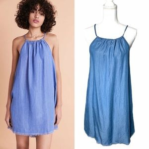 Urban Outfitters Chambray Tank Dress size M